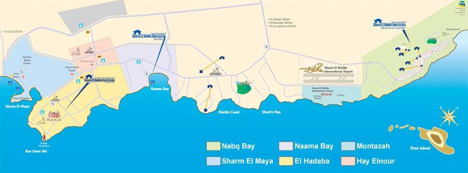 Sharm el sheikh real estate sharm el sheikh maps areas gumiabroncs Choice Image